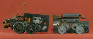 O-Scale-Lot-of-2-Vintage-Motor-Parts-DO-NOT-RUN
