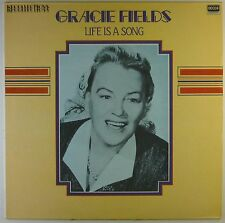 """12"""" LP - Gracie Fields - Life Is A Song - L5608h - washed & cleaned"""