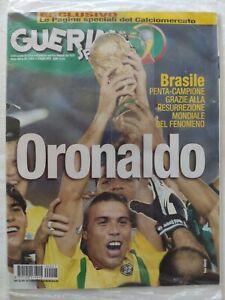 SIGILLATO-GUERIN-SPORTIVO-27-2002-MONDIALE-KOREA-JAPAN-BRASILE-CAMPIONE-RONALDO