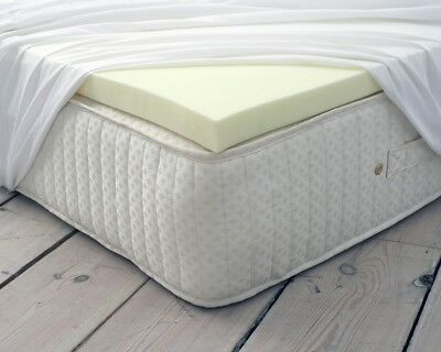 100/% MEMORY FOAM MATTRESS ORTHOPEDIC TOPPER AVAILABLE IN ALL SIZES AND DEPTHS