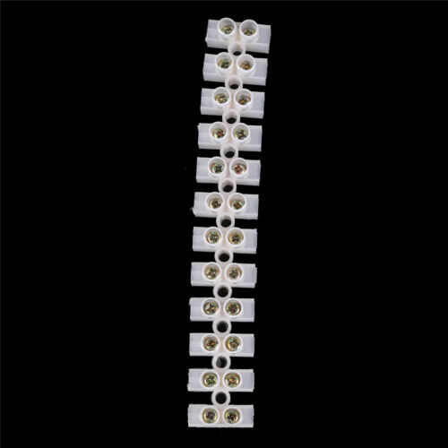 10A Electrical Wire Connection 12Position Barrier Terminal Strip Block·