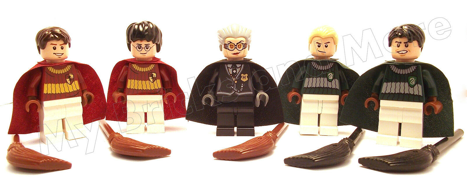 Lego Harry Harry Harry Potter, Draco, Flint, Oliver, and Hooch Minifigures 4737 100% REAL c3f2b8
