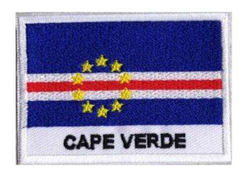 Ecusson patch badge patche drapeau CAP VERT 70 x 45 mm brodé à coudre