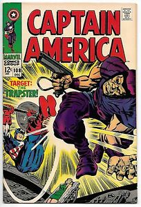 CAPTAIN AMERICA #108 9.0 VF/NM COW PAGES (641)
