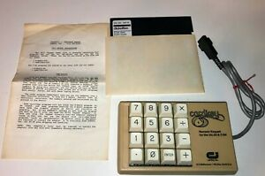 Vintage-Cardkey-numeric-keypad-For-Commodore-64-and-Vic-20-tested-working