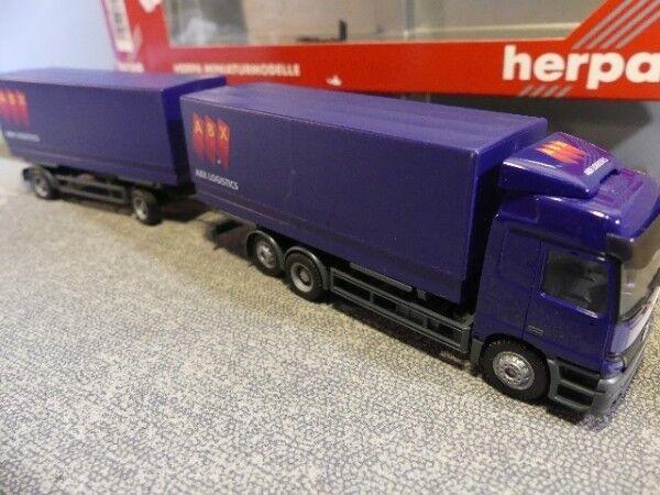 1 87 Herpa MB Actros ABX Logistics changement pieux Hz 146203