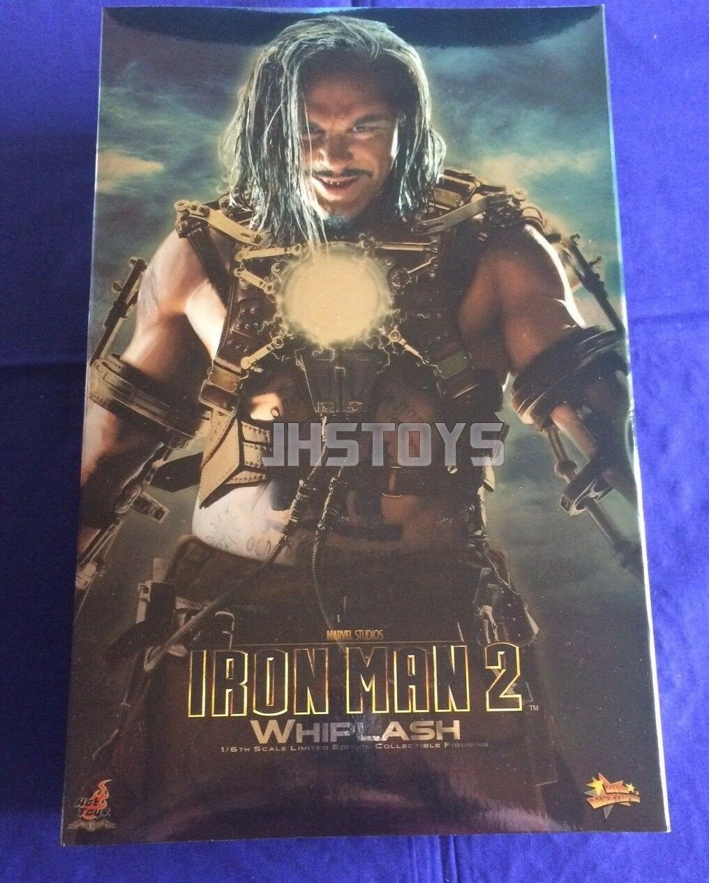 Hot Toys 1 6 Iron Man 2 Whiplash MMS121 Japan
