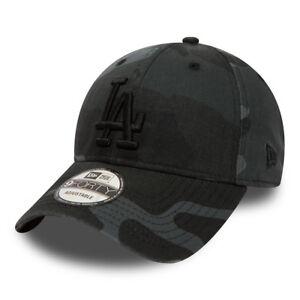 9Forty Adjustable Cap LA Dodgers in Camo - Black New Era HatxD
