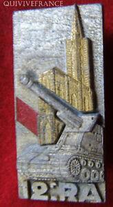 IN4812-INSIGNE-12-Regiment-d-Artillerie-cathedrale-rapportee