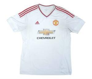 Manchester United 2015-16 ORIGINALE AWAY SHIRT (OTTIMO) XL soccer jersey