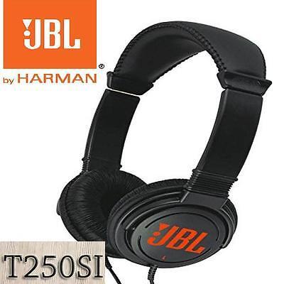 Genuine JBL T250SI Wired Headphones on ear Headset T250 Headphone