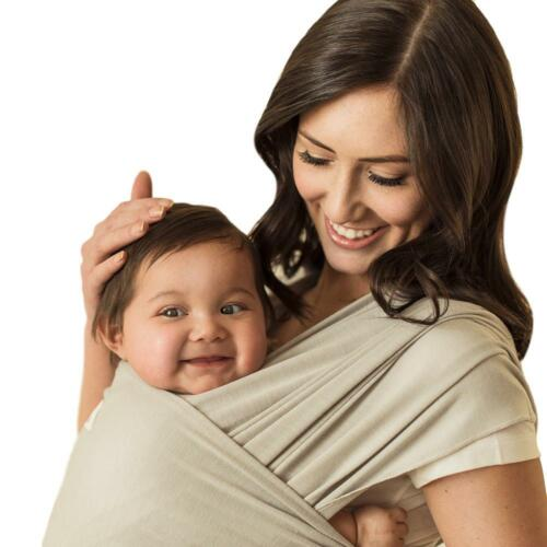 SEVEN SLING ADJUSTABLE BABY INFANT WRAP CARRIER MULTIPLE WAYS 8-35 Lb NEW IN BOX
