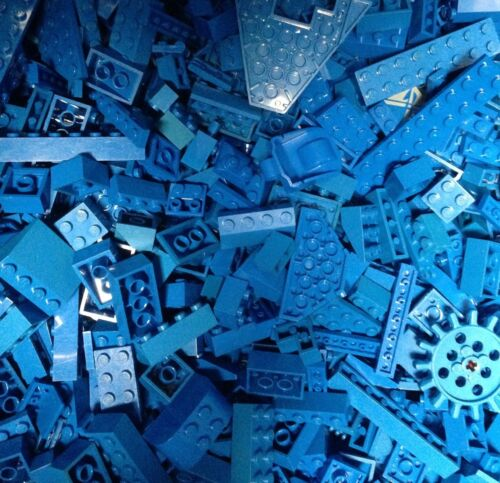 5X POUNDs BLUE Lego Bricks Parts Pieces / Five LBs / Blue Legos / 5LB