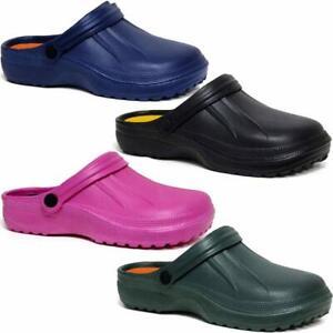 Ladies-Clog-Mules-Slipper-Nursing-Garden-Beach-Sandals-Hospital-Rubber-Shoes