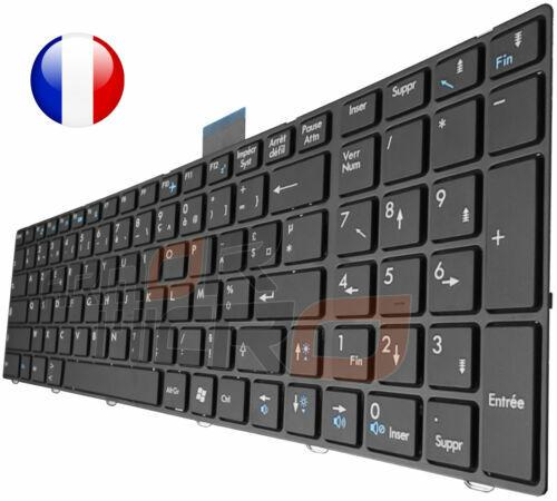 KINPOWER Clavier AZERTY Français pour MSI GE62 GE72 GL62