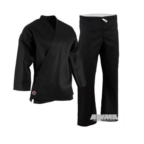 Karate Uniform Martial Arts Student Gi Child Youth Adult Lightweight with Belt