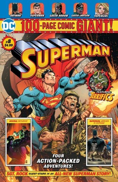 Dc Comics Superman 6 Walmart 100 Page Giant For Sale Online Ebay