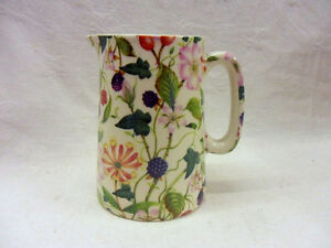 hedgerow 2 pint pitcher jug by Heron Cross Pottery