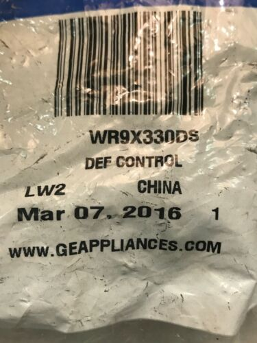 WR9X331 WR9X330 WR9X330DS refrigerator Defrost Timer