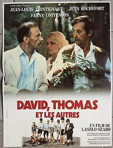 Plakat-David-Thomas-und-die-Anderen-Laszlo-Szabo-Trintignant-Rochefort-40x60cm