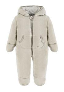 Kanz® Baby Fleece Wagenanzug Overall Anzug Unisex Blau 56-80 Basic NEU!