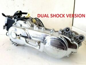 Details about 50cc Scooter MOPED Engine BN139QMB DUAL SHOCK LONG CASE SHORT  SHAFT CVT 4 STROKE