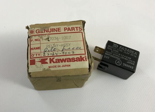 Relè  Frecce - Relay Turn Signal - Kawasaki ZX750 GPz750 NOS: 27034-1007