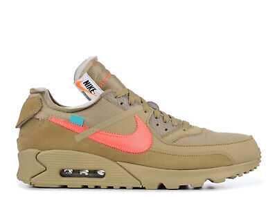 "2019 Off White x Nike Air Max 90 ""Desert Ore"" AA7293 200"