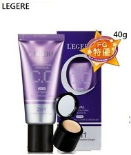 L'EGERE DUAL AQUA SOOTHING ESSENCE-IN SPF50 CC CREAM - ALL COVER CONCEALER 2in1