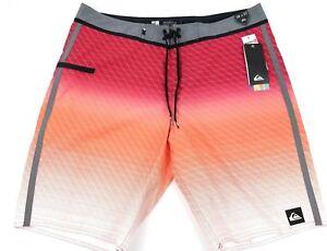 Details about Men's Quiksilver Boardshorts SHD Drone Vee 22 Sizes 32, 38  Red/Orange