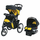 Graco Trax Jogger Click Connect Stroller Travel System With SnugRide Car Seat