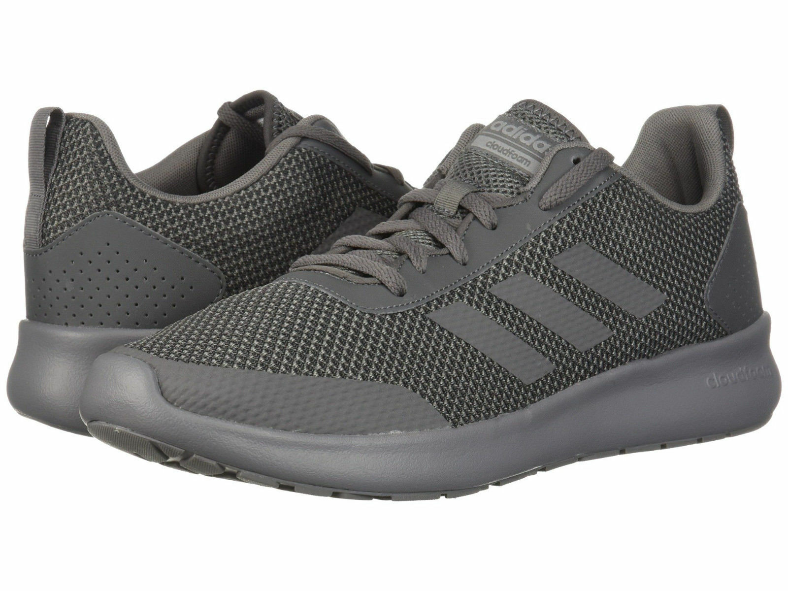 Men Adidas Element Race Running Mesh Upper DB1454 Grey Grey 100% Authentic New