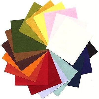 mg01 MINGEI solid color Japanese Washi Paper 30 x 30 cm // 2 sheets same color
