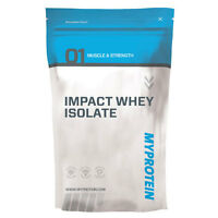 Myprotein Impact Whey Isolate 4kg / 4000g / 8.8lbs Unflavoured + Free Delivery