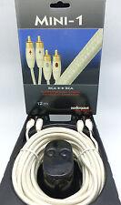 Audioquest Mini-1 RCA Audio Interconnect Cables 12 meter Pair