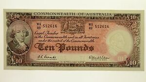 1960-Ten-Pounds-Coombs-Wilson-Banknote-in-Uncirculated-Condition