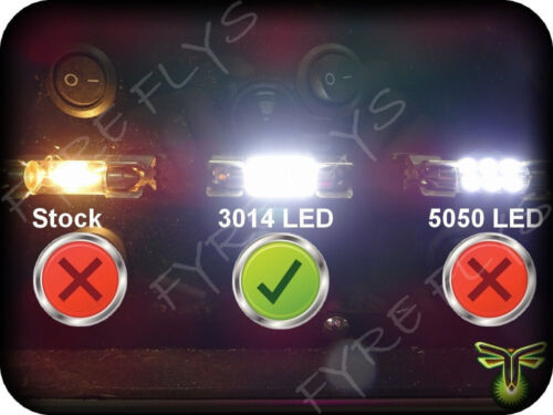 White LED interior lights package kit for 2008-15 Sequoia 13 pcs 3014 series SMD