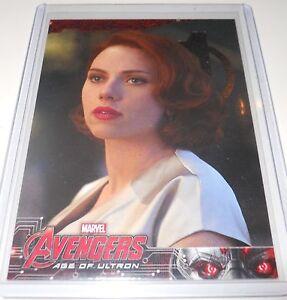 Avengers Assemble Trading Card Black Widow//Scarlett Johansson #143