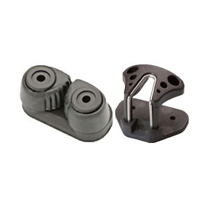 Cam-Cleat-Composite-SMALL-27mm-Holes-Black-BONUS-PERFORMACE-FAIRLEAD-INCLUDED