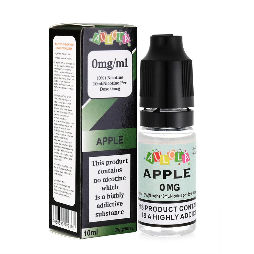 10ml AULOLA E Liquid Vape Juice Oil Shisha Refill 0mg, 6mg, 12mg, 18mg TPD Cig 2