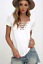 Sexy-Fashion-Women-V-Neck-Short-Sleeve-T-shirt-Casual-Loose-Blouse-Tops-Tee-2019 thumbnail 18