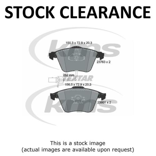 T Stock Clearance New FRONT BRAKE PAD SET TOP KMS Q A6 2.0TDI-3.0I 05