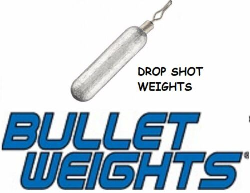 Bullet Weights  FDW18  Lead Drop Shot Weight Size 1//8 oz 7  Per Pack 0140