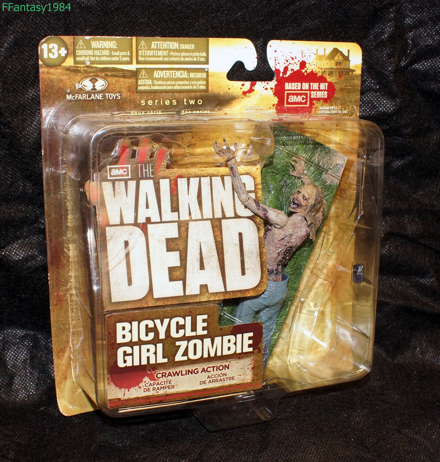 The Walking Dead Bicycle Girl Zombie Series 2 NIB