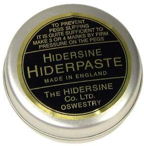 HIDERSINE PEG PASTE, STOP SLIPPING PEGS, VIOLIN, VIOLA, CELLO, FROM UK