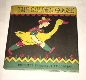 The-Golden-Goose-Mary-Lott-Seaman-Macmillan-1928-Rare-w-Dust-Jacket-Art-Deco
