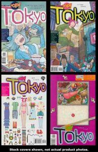 Vertigo-Pop-Tokyo-1-2-3-4-Complete-Set-Run-Lot-1-4-FN