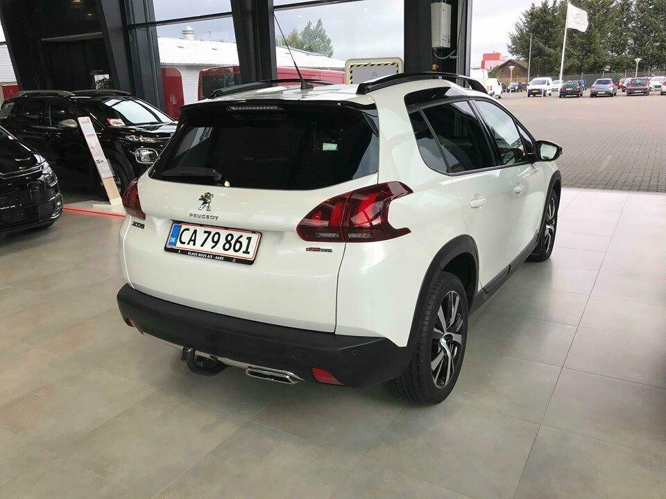 Peugeot 2008 1,6 BlueHDi 120 GT Line Sky Diesel modelår 2018