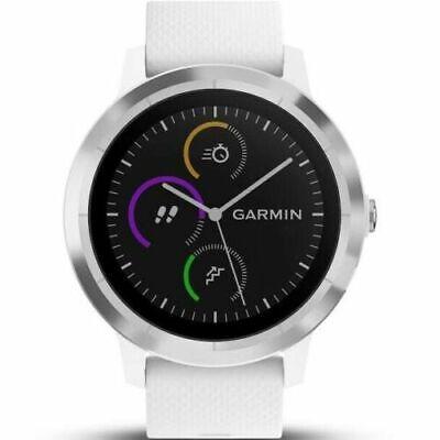 Black//Silver Garmin Vivoactive 3 GPS Multi Sport Smartwatch With Integrated HRM