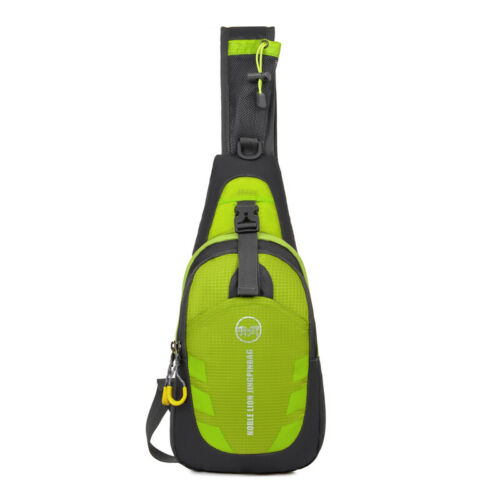 Sling Bag Waterproof Crossbody Sport Chest Backpack Ultra Light For Mens Woman